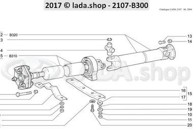 C7 Propeller shaft drive