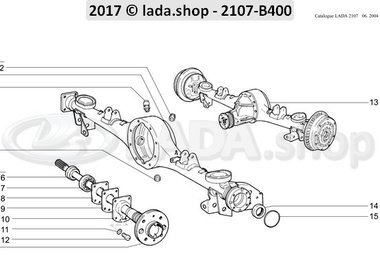 C7 Rear axle and axle shafts