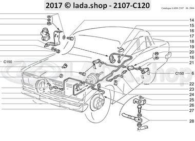 C7 Commande hydraulique des freins