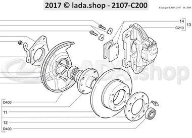 C7 Front brakes