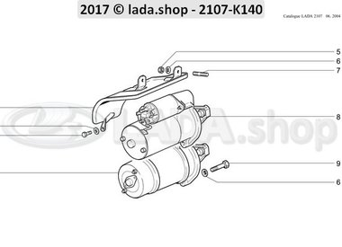 C7 Crank motor and accessories