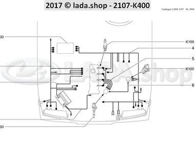 C7 Faisceaux du compartiment moteur