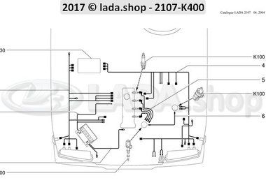 C7 Motorruimte draad harnas