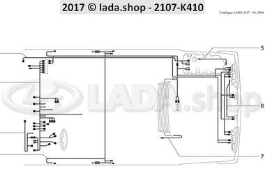 C7 Kabelstränge für Innenraum