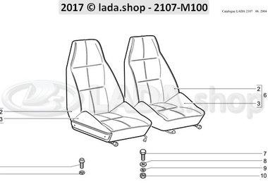 C7 Assentos dianteiros
