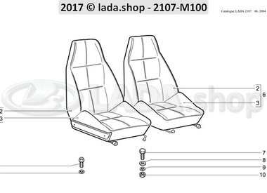 C7 Voorstoelen