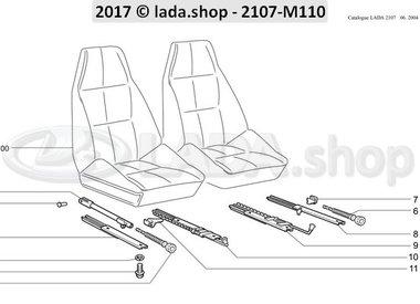 C7 Mécanisme de réglage du siège avant