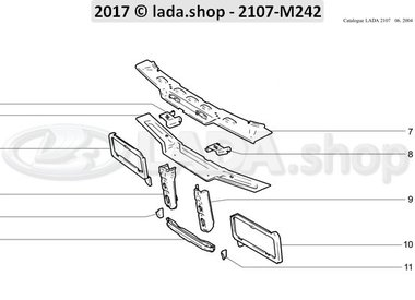 C7 Radiator frame