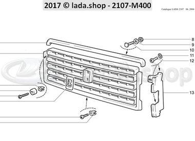 C7 Radiator bekleding