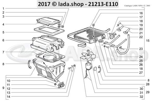 LADA 0000-1000902021, Tornillo M6x12
