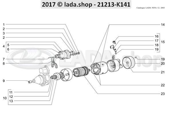 LADA 0000-1000734301, Splitpen 2x20