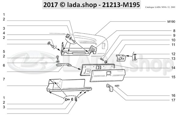 LADA 0000-1007670001, Blechschraube 4.3x9.5