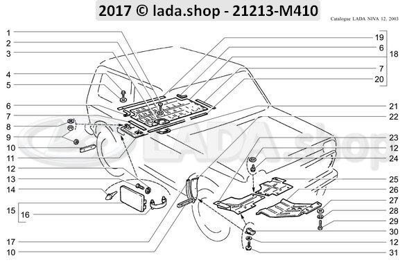 LADA 0000-1005187301, Parafuso 5.6X16 Autoroscante