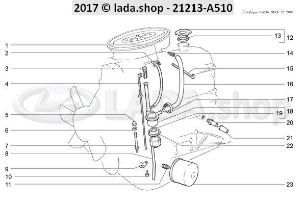 LADA 2101-3724114-01, Casquete