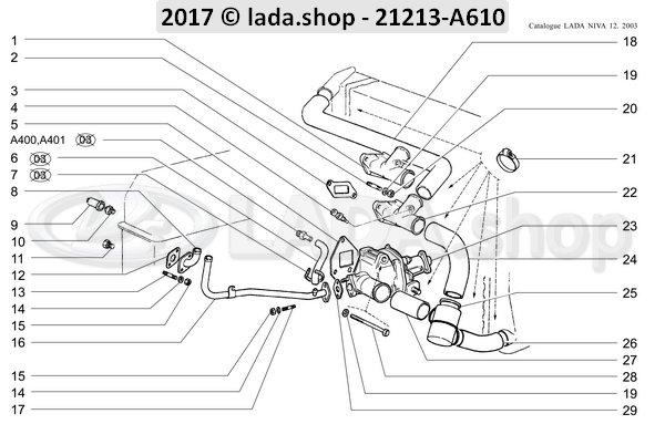 LADA 0000-1006045121, Bolt M8x95