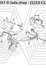 LADA 2121-3512010-01, Brake pressure regulator Lada Niva 4x4