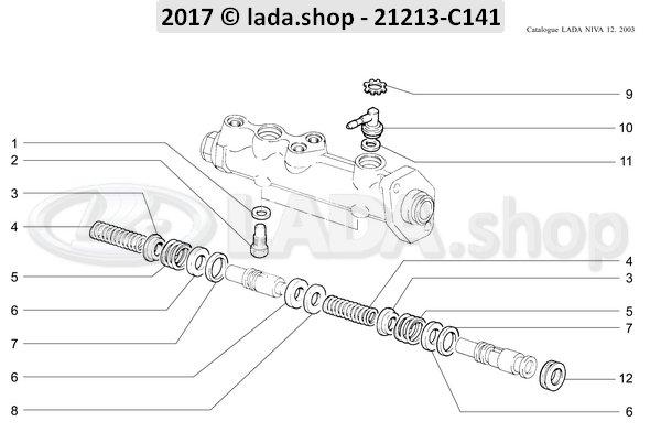 LADA 2101-3505038, aanslagschroef