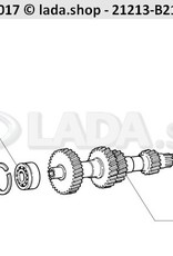 LADA 0000-1005540421, Parafuso M12X1.25 X 30