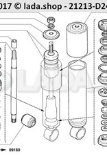 LADA 2101-2905619-10, Guide sleeve. zuiger