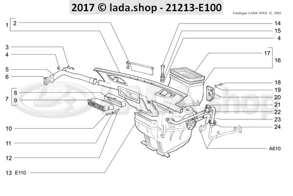 LADA 0000-1000903221, Bolt M6x40
