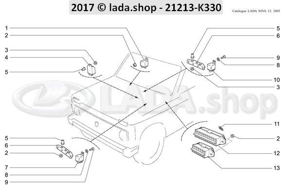 LADA 2101-3726410, Struik