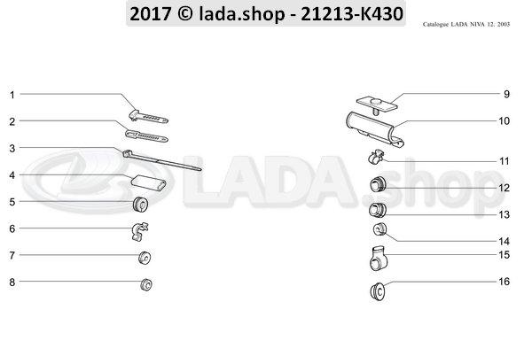 LADA 0000-1004570080, Kabelschelle 18