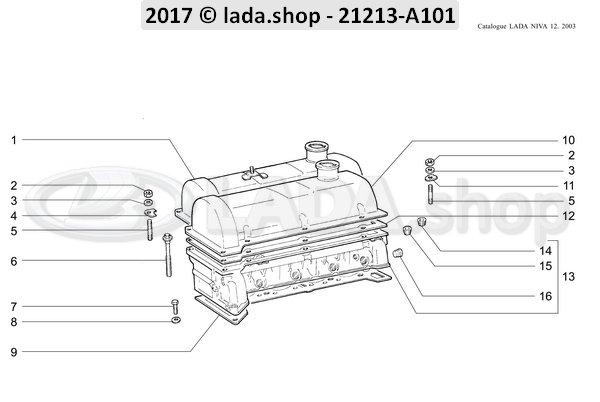 LADA 0000-1000269750, Taper plug 18x1.5