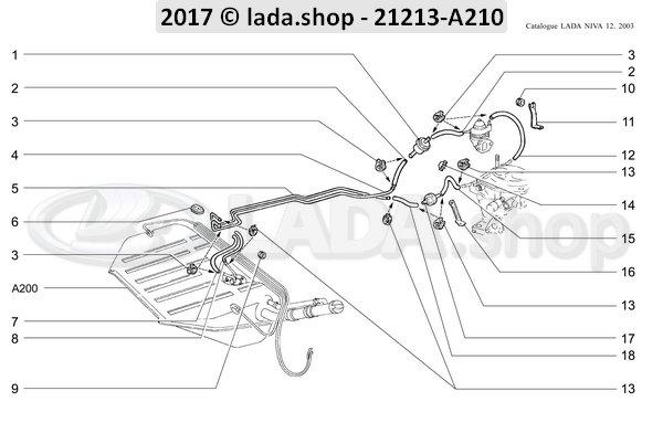 LADA 2108-1117010-81, Fuel filter