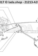 LADA 2105-1108068, Bracket facing