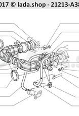 LADA 2108-1300080-40, Screw-type-clip Ø 12-18