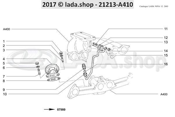 LADA 21011-1217046, Junta
