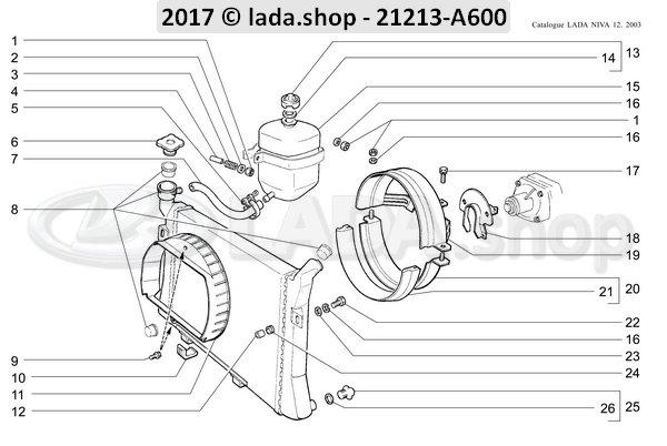 LADA 21213-1309080, Suporte