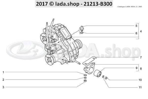 LADA 2121-1801010-02, Bracket