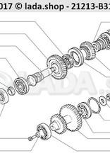LADA 2121-1802084-10, Arbol intermedio Z 37 28 13