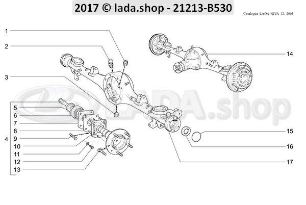 LADA 2121-2403087, Pakking