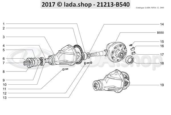 LADA 2101-2403064, Rolamento De Porca
