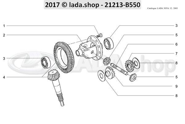 LADA 2101-2403061, wahser