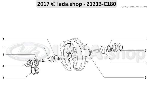 LADA 2103-3510118-01, Retainer