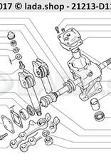 LADA 0000-1004324111, Taps toelopende plug 12x1.5