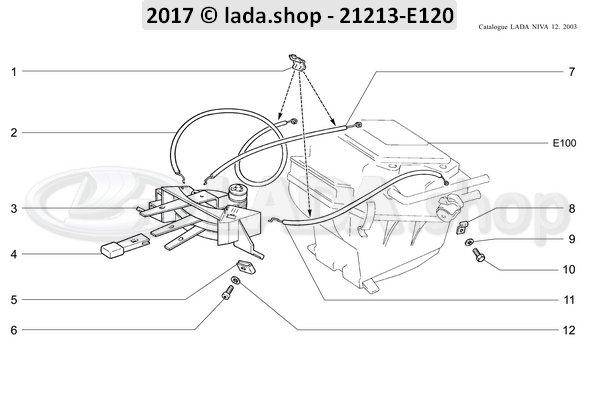 LADA 0000-1000444511, Bolt M4x10