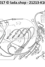 LADA 21214-3724036, Wire harness. injector