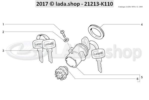 LADA 2101-3704201, sierring