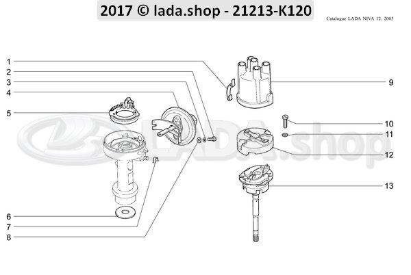 LADA 0000-1000389401, Screw M5X12