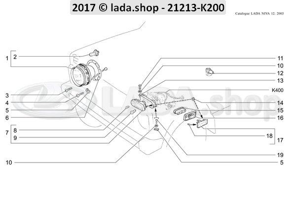 LADA 2121-3726087, Junta.Indicador De Direcao