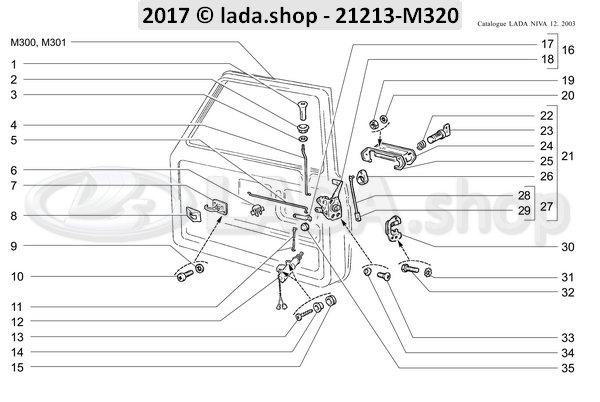 LADA 2101-6205094, Alojamiento