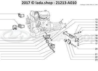 N3 Suspension de moteur