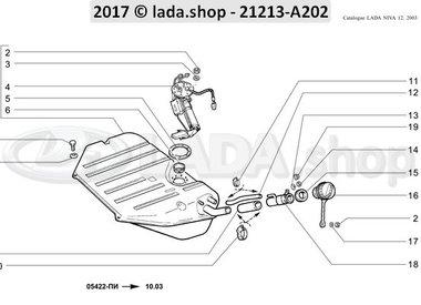 N3 Kraftstofftank MPFI >>> 10-2003