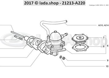 N3 Brandstofpomp CARB montage
