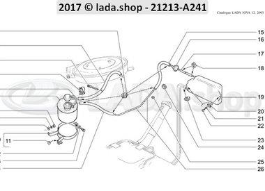N3 Systeem verdampingsemissie 1700 CARB