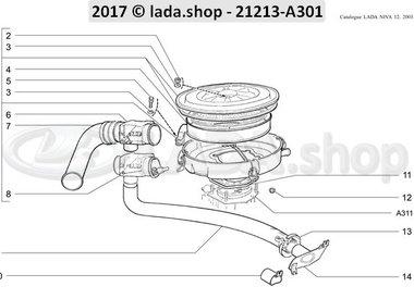 N3 filtro de ar CARB 21213